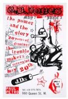 GB Jones Poster