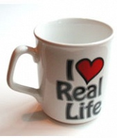 Ross Sinclair: I Love Real Life Mug