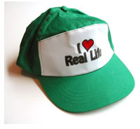 I Love Real Life Hat