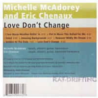 Eric Chenaux and Michelle McAdorey: Love Don't Change