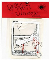 Seth Scriver: Broken Window Stickers