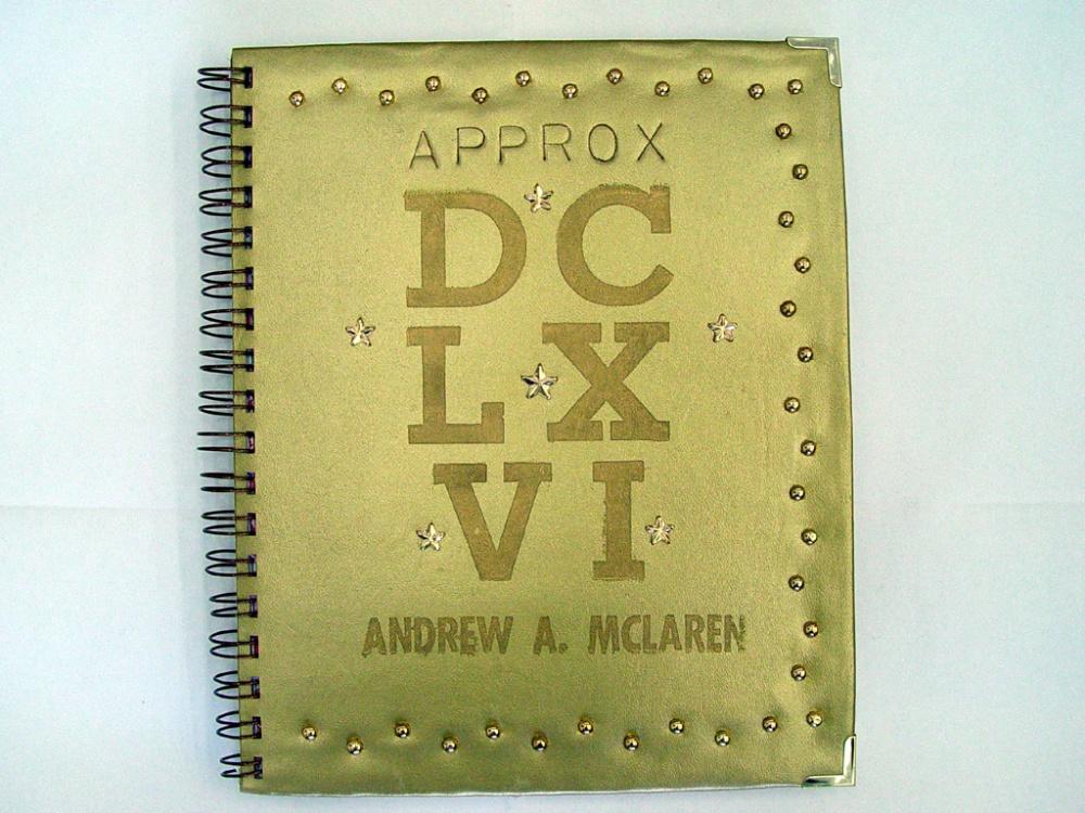 Andrew A. McLaren - Approx. DCLXVI