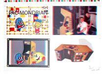 Pac-Mondrian : Glitch Print