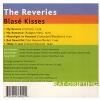 Eric Chenaux, Ryan Driver, and Doug Tielli: Blasé Kisses