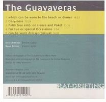 Eric Chenaux and Ryan Driver: The Guayaveras