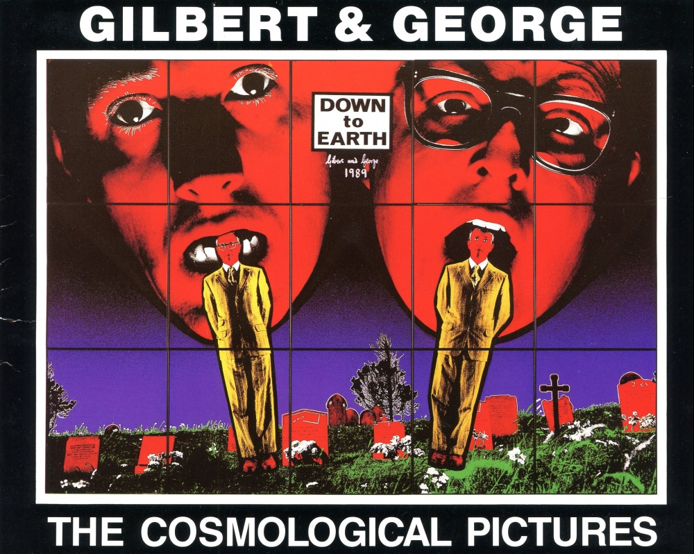 "Gilbert & George ""The Cosmological Pictures"", Palac Sztuki, Krak"