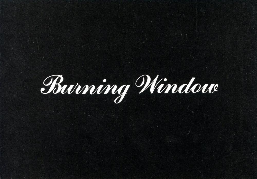 "Jack Goldstein ""Burning Window"" Postcard"