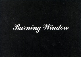 "Jack Goldstein ""Burning Window"" Postcard"