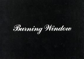 "Jack Goldstein ""Burning Window""Postcard"