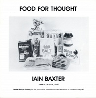 Ian Baxter: Food for Thought