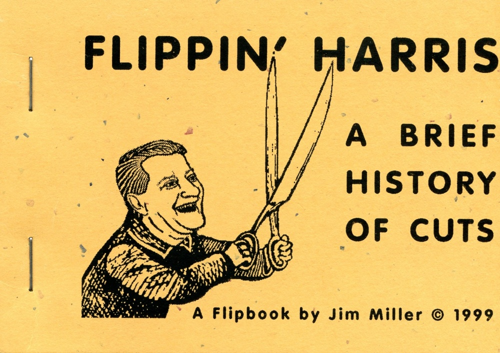 Flippin' Harris: A Brief History of Cuts