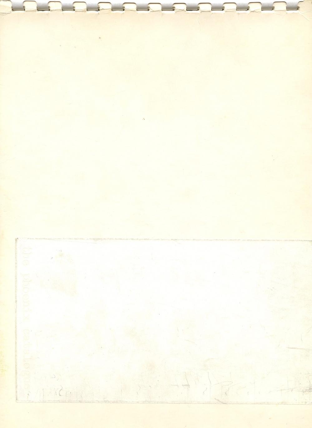 The Phoenix Catalogue Volume 1: An Exploration in Conceptual Art