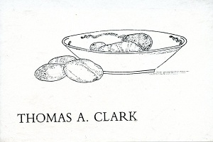 AUDIO ARTS - Reading at Coracle Press 3: Thomas A. Clark