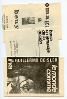 Three Mail Art Books by Clemente Padín