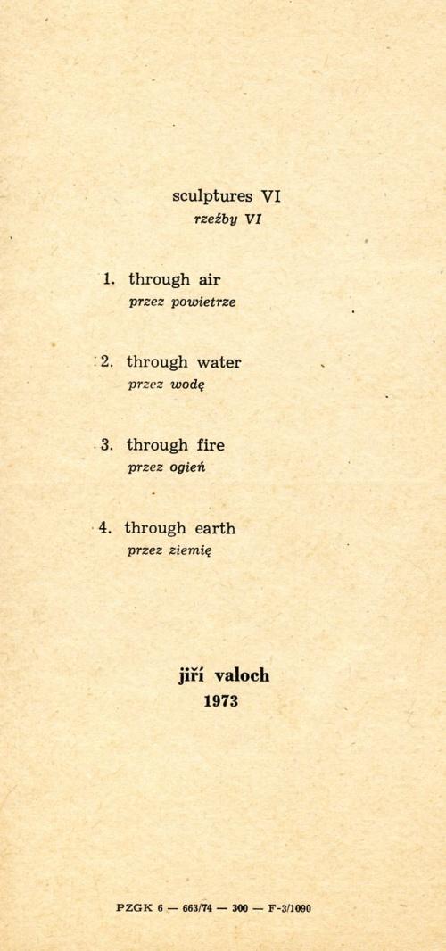 Ji?í Valoch exhibition invitation