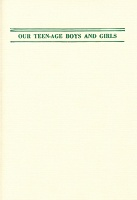 Maggie Lee: Our Teen-age Boys & Girls