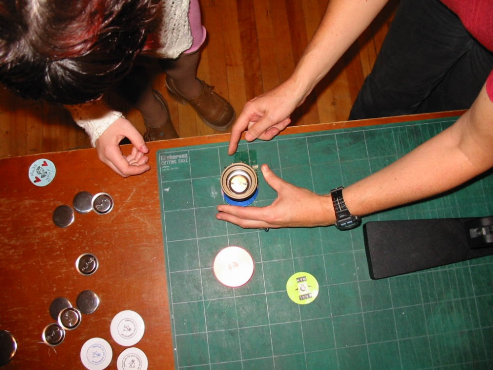 School of Serial Production: Button-Making