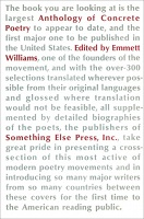 Emmett Williams: An Anthology of Concrete Poetry