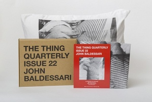 The Thing Quarterly Issue 22: John Baldessari