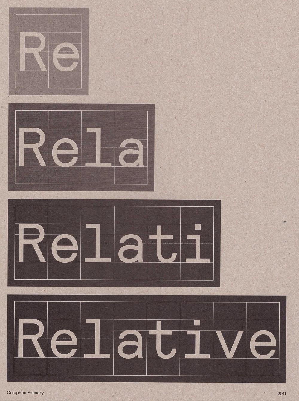 Relative Specimen