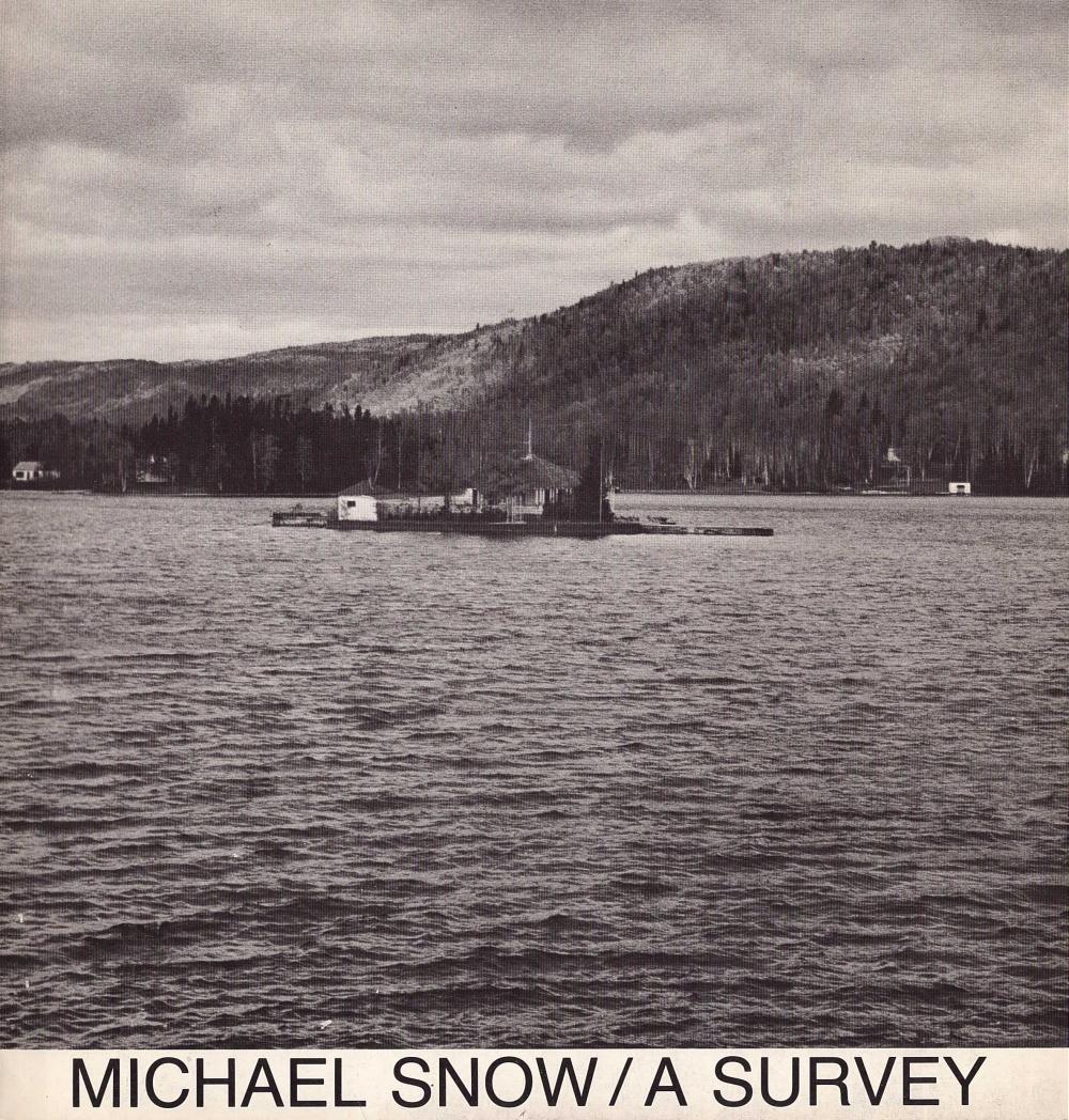 Michael Snow: A Survey