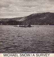 Michael Snow: A Survey