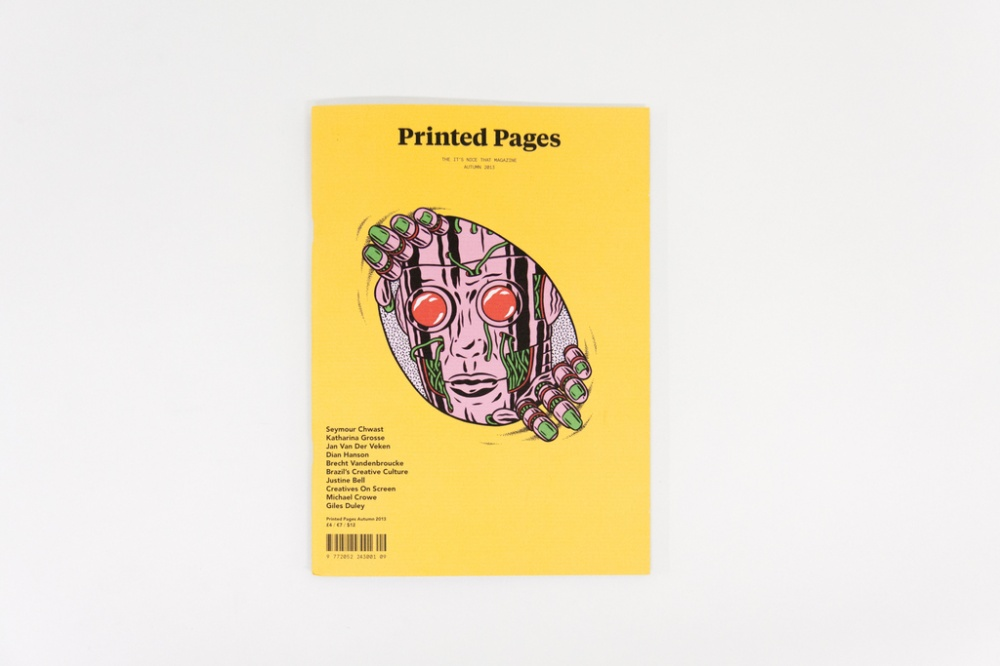 Printed Pages, Autumn 2013