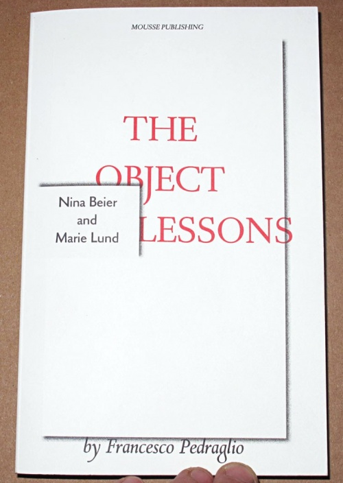 The Object Lessons - Nina Beier and Marie Lund