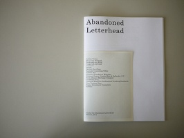 Maia Asshaq and Danielle Aubert: Center for Abandoned Letterhead Catalogue
