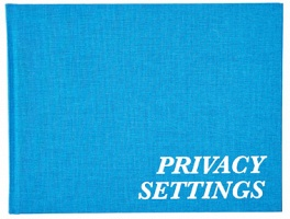Erik van der Weijde: Privacy Settings