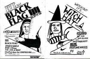 BLACK FLAG ZINE  Noah Lyon vs. RaymondPettibon