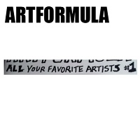 Noah Lyon: ARTFORMULA #1 : All Your Favorite Artists