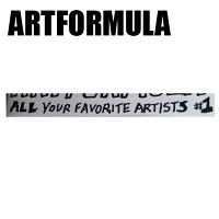 Noah Lyon: ARTFORMULA #1 : All Your FavoriteArtists