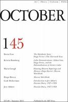 October 145: Summer 2013