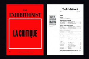 The Exhibitionist #8: La Critique  October 2013
