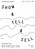 Show & Tell & Sell Benefit Ticket (SPECIAL LIMITED OFFER FOR MEMBERS)