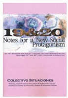 19&20: Notes for a New Social Protagonism by Colectivo Situaciones