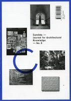 Candide - Journal for Architectural Knowledge - No. 5