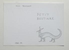Yona Friedman: Petit Bestiaire 1962-81