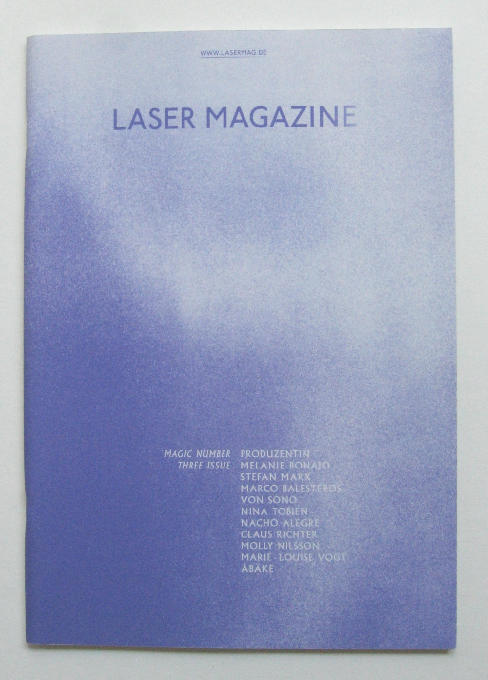Laser Magazine, Magic Number Three Issue