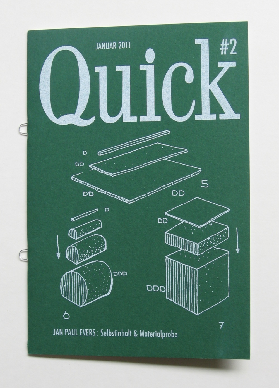 Quick #2: Selbstinhalt & Materialprobe