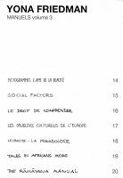 Yona Friedman: Manuels volume 3