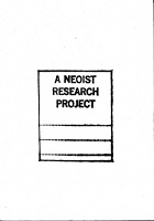 N.O. Cantsin: A Neoist Research Project