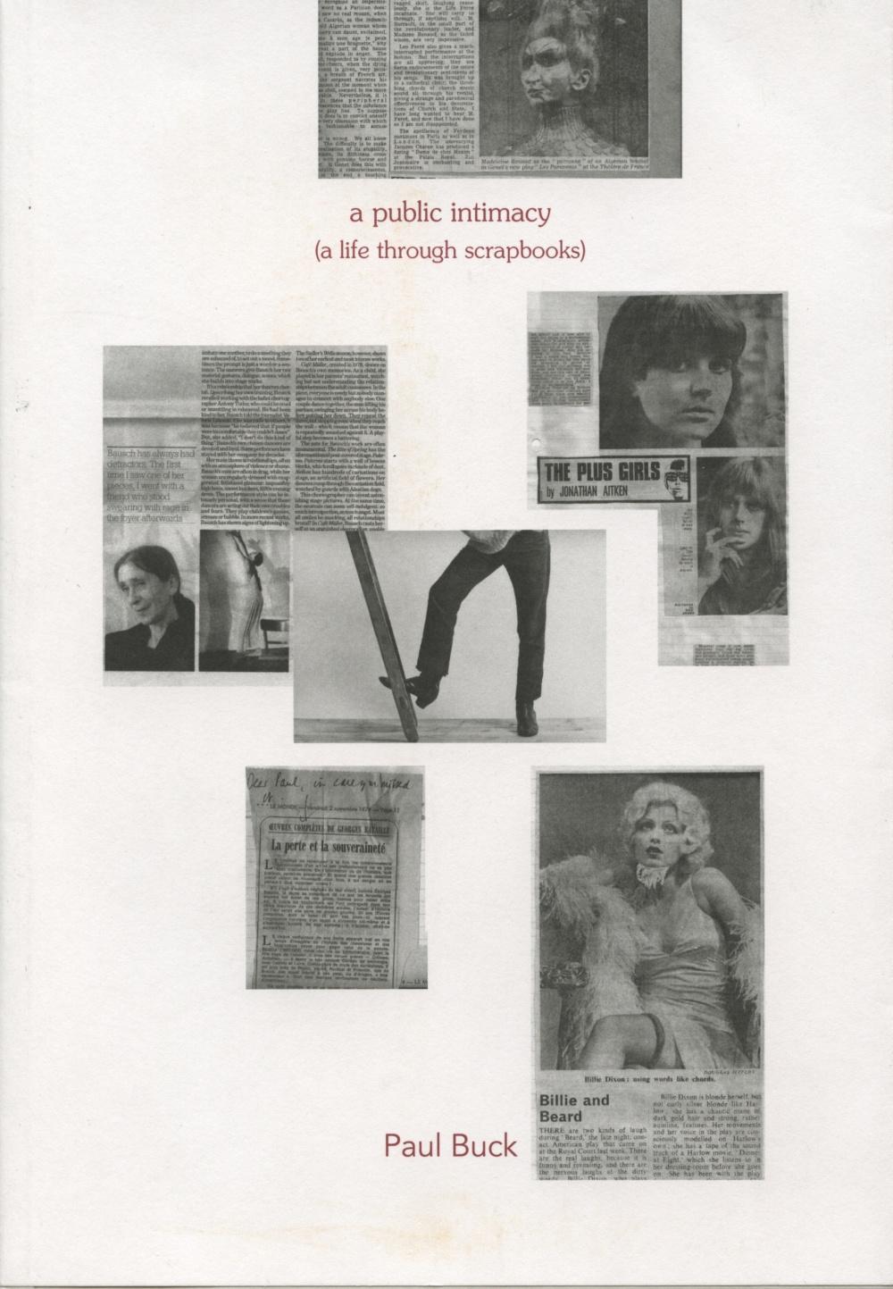 A Public Intimacy (A Life Through Scrapbooks)
