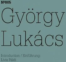 György Lukács  Notes on Georg Simmel's Lessons, 1906/07, and on