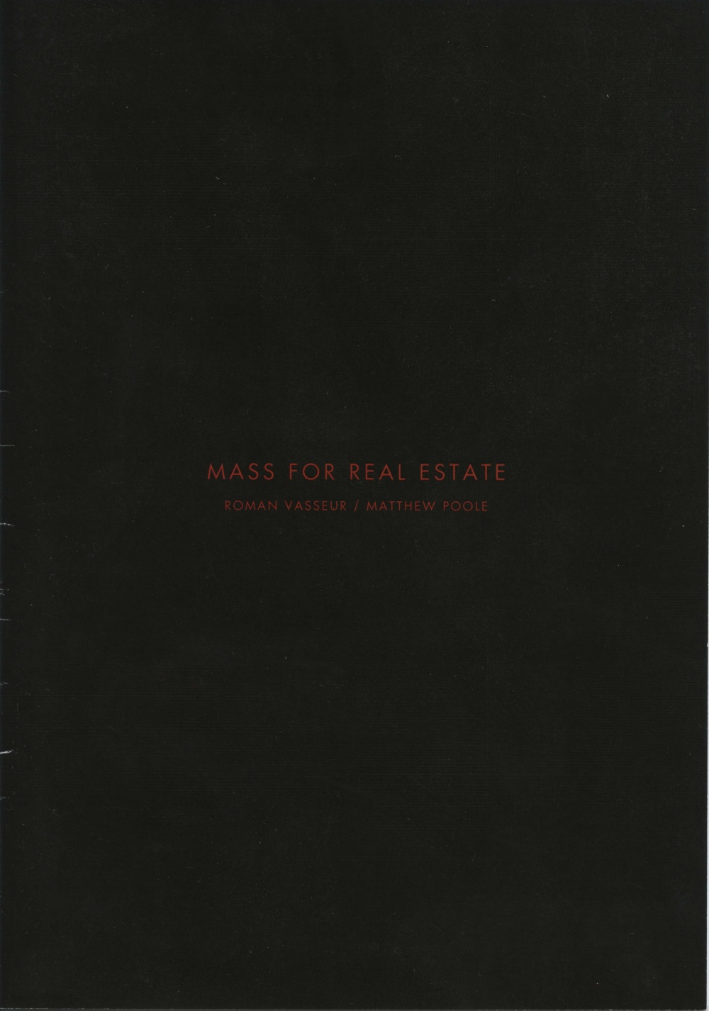 Mass For Real Estate
