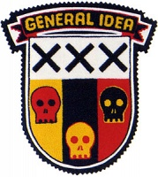 Post Mortem, 1988/2010. General Idea Crest