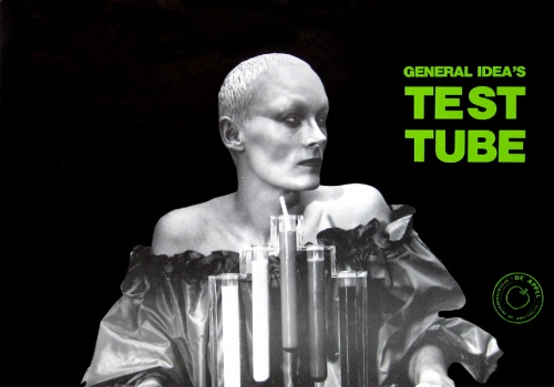 General Idea's Test Tube (De Appel) launch poster