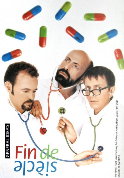 Fin de siècle exhibition poster