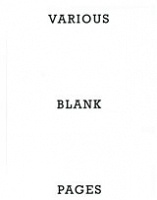 Eric Baskauskas and Doro Boehme: Various Blank Pages